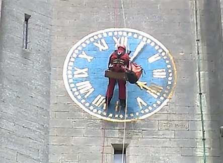 St Andrew's Church Clock in Lincolnshire