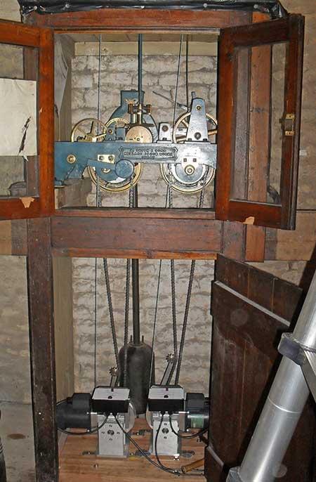 Automatic Winding & Automatic Regulation